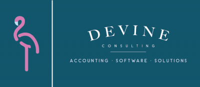 houston bookkeeping devine logo
