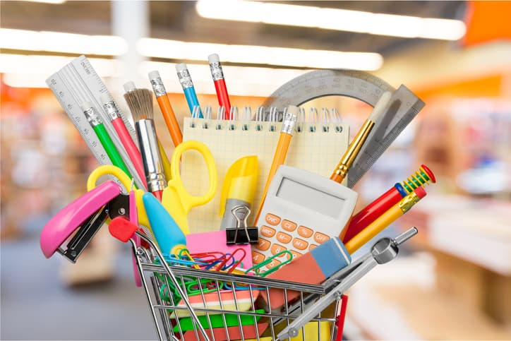 School Supply List vs Business Supply List
